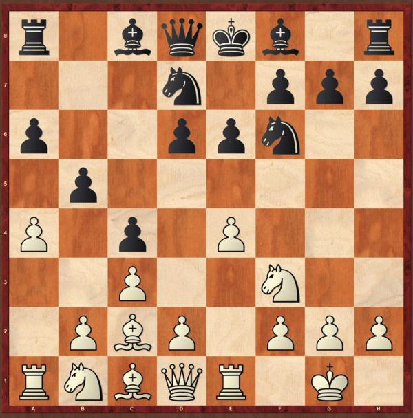 najdorf sicilian defense position chess opening